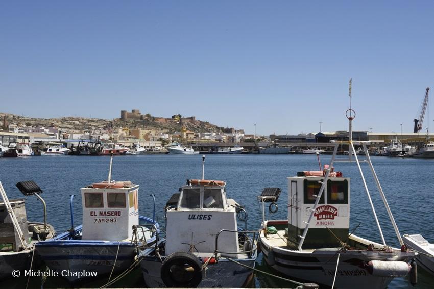 Almeria port ©Michelle Chaplow