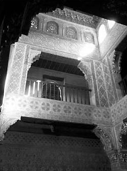 Moorish baths in the Alhambra. © Lawrence Bohme