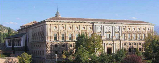Palace of Carlos Quinto. © Lawrence Bohme