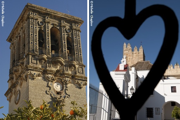 The basílica of Santa María & The Castle of Arcos ©Michelle Chaplow