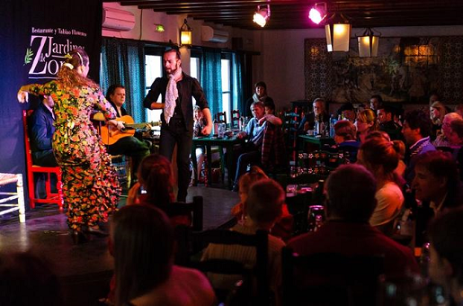 Flamenco Show at Jardines de Zoraya