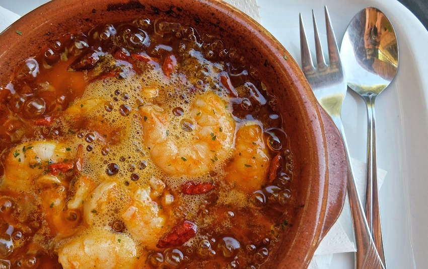 Traditional Cuisine - Gambas Pil-Pil ©The Blonde B