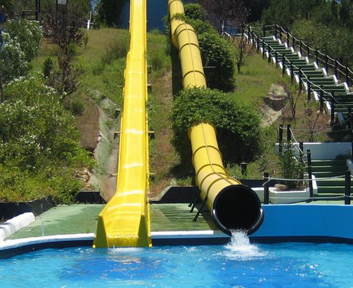 Water slides at Aquapolis, Cartaya. © Aquapolis, Cartaya