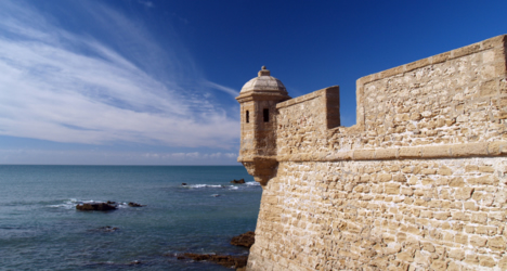 © Michelle Chaplow World beats arrive in Cadiz Port