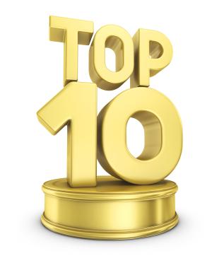 Economics top ten of everthing