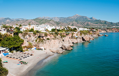 © Michelle Chaplow The beautiful Nerja coastline