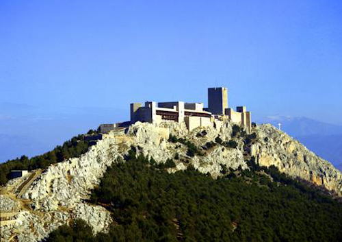Jaen Parador is lodged in the 12th century Santa Catalina Castle
