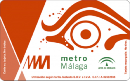 A typical Ticket for the Metro