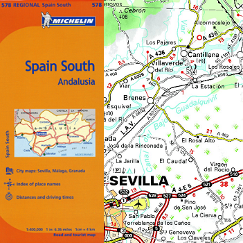 Travel Map Of Spain.Spain Maps News Media Andalucia Com