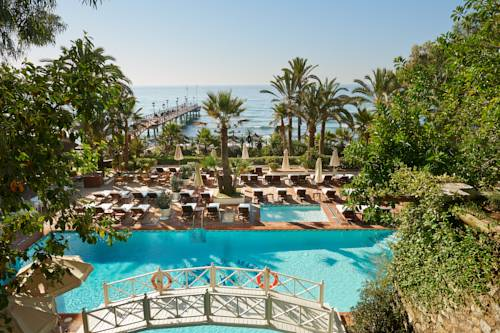 Chill out at the Marbella Club Hotel beach club.