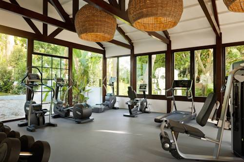 Marbella Club hotel has a gym as well as many other sports facilities