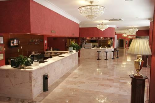 Hotel Salles Málaga Centro- Reception area