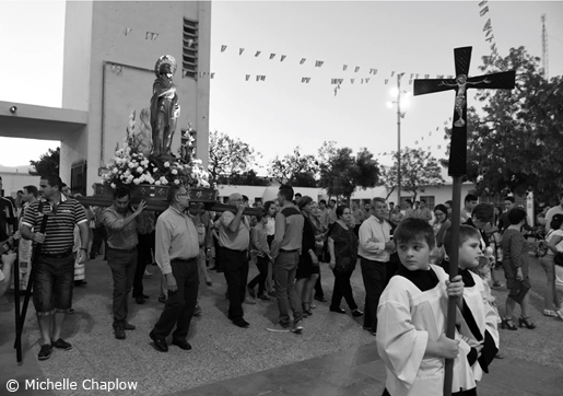 The Festival on San Isidro, in the village of San Isidro © Michelle Chaplow .