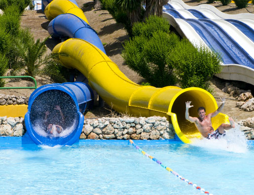 Aquavelis water park has 21 rides to choose from! © Aquavelis, Malaga