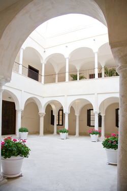 The internal Patio of the Museum