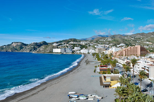 Tropical Coast and Caves of Nerja Day Trip