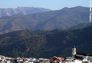 © Michelle Chaplow The village of Yunquera a great base to explore to the Sierra de las Nieves