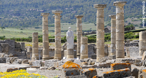 The Roman ruins of Baelo Claudia © Michelle Chaplow