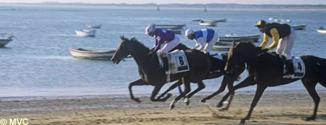 San Lucar is also noted for its horse racing which dates back to 1845