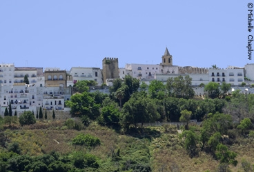 Vejer de la Frontera is perched on a hilltop with privileged panoramic views. © Michelle Chaplow
