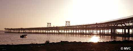 The Muelle de Riotinto was restored in 2003 by the Huelva Town Hall