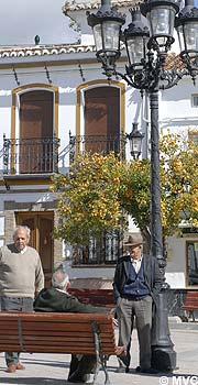 The Village Of Villanueva De La Concepcion In The Malaga Province