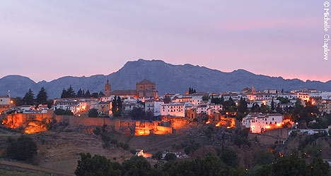 Its well worth staying over in Ronda and enjoying the evenings. © Michelle Chaplow
