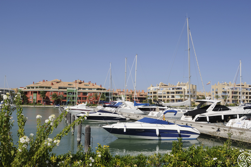 The prestigious marina of Sotogrande © Michelle Chaplow