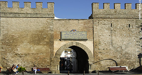 The Moorish gateway to the old town of Tarifa. © Michelle Chaplow