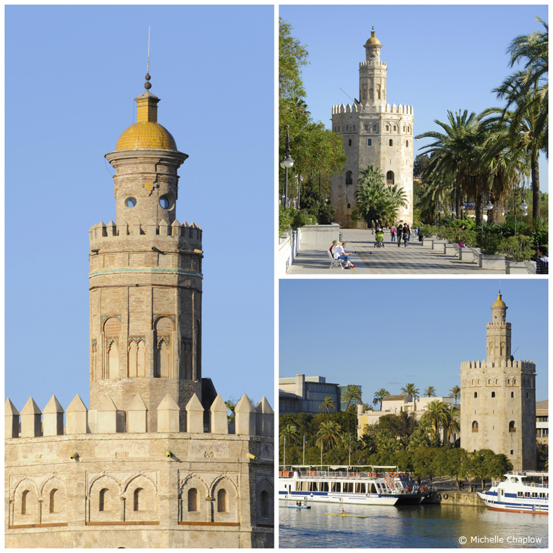 The Torre del Oro (Golden Tower) Seville© Michelle Chaplow
