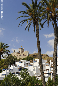 From apartments to castles, Mojácar can provide the home of your dream © Michelle Chaplow
