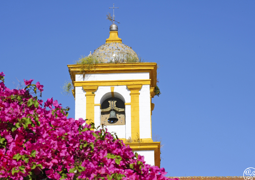 The bell tower in Chiclana © Michelle Chaplow