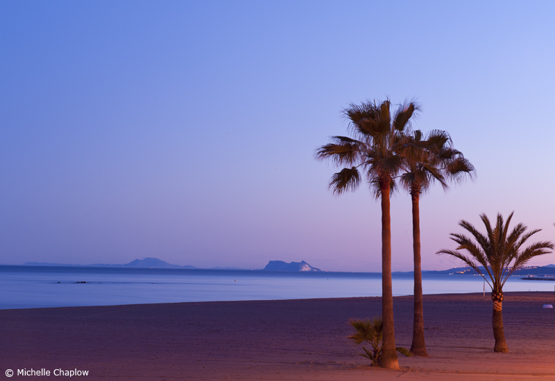 Balmy evenings on the Costa del Sol © Michelle Chaplow