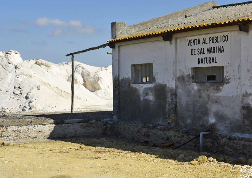 The salt mine at Puerto Real © Michelle Chaplow