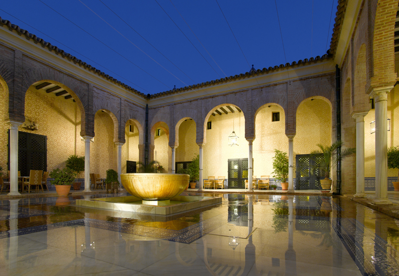 Staying in this Parador is one of the best ways to get a glimpse of Arab archite
