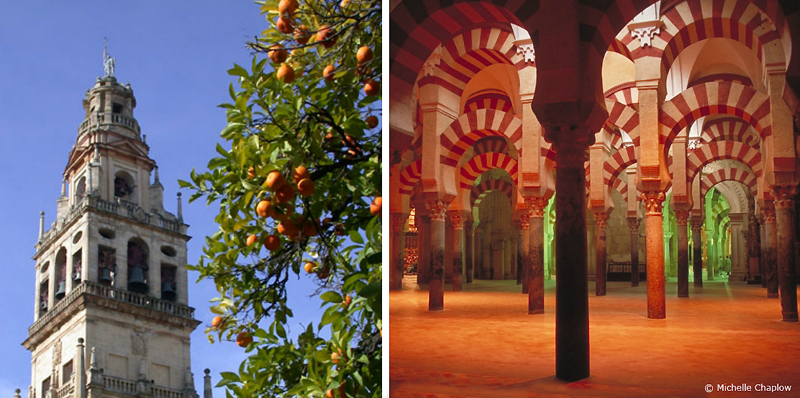Cordoba's Mezquita is a Blend of Moorish and Christian Architecture © M Chaplow