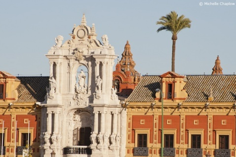 The Palace of San Telmo an emblematic example of Baroque architecture © Chaplow