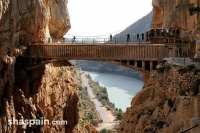 Guided King's Walkway Hike from Malaga