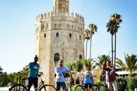 Monumental Bike Tour with a local guide in Seville